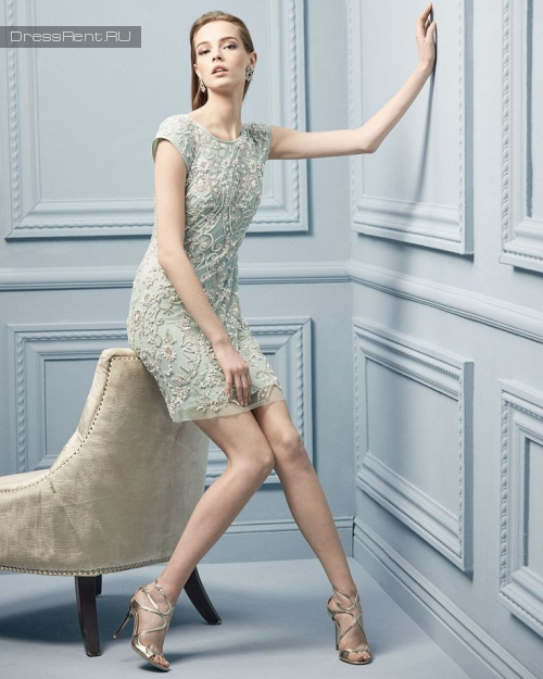 Aidan Mattox ,White Gatsby Cap Sleeve Dress